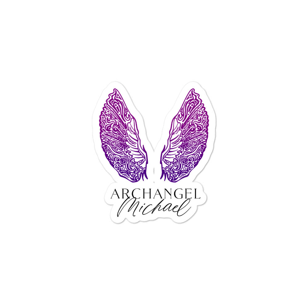 Bubble-free stickers - Archangel Michael
