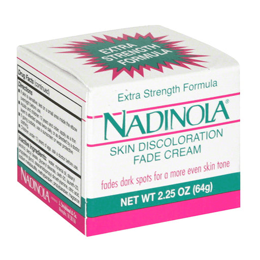 Nadinola Fade Cream, Skin Discoloration 2.25 Oz