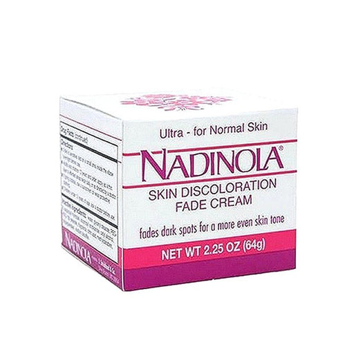 Nadinola Skin Discoloration Fade Cream For Normal Skin 2.25 Oz
