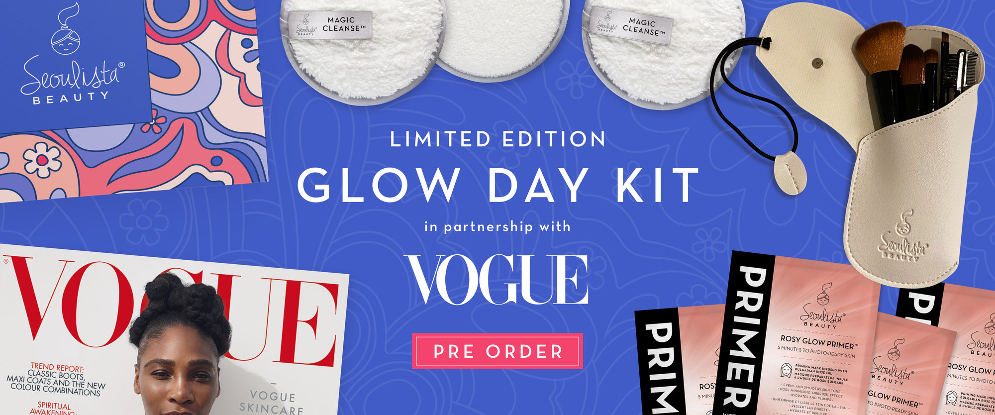 Glow Day Kit in partnership with Vogue