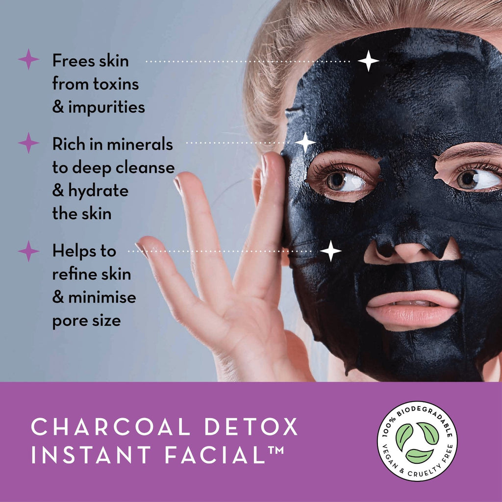 Charcoal Detox Instant Facial™ - Seoulista Beauty
