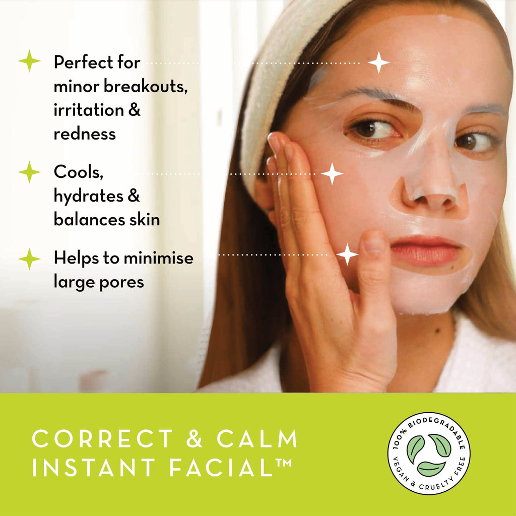 Correct & Calm Instant Facial™ - Seoulista Beauty
