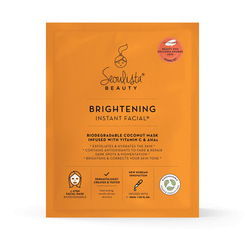 Seoulista Brightening Instant Facial® - Seoulista Beauty