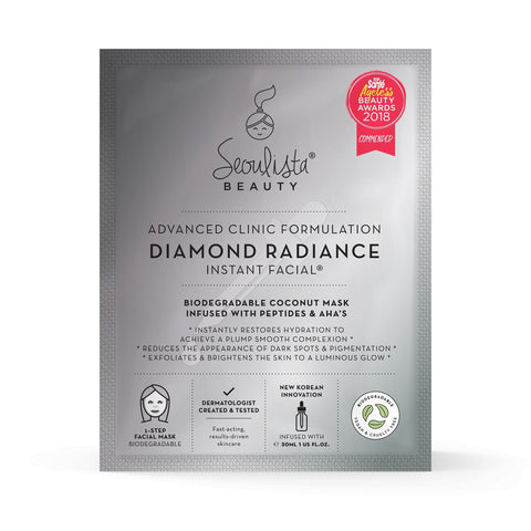 Seoulista Diamond Radiance Instant Facial® - Seoulista Beauty