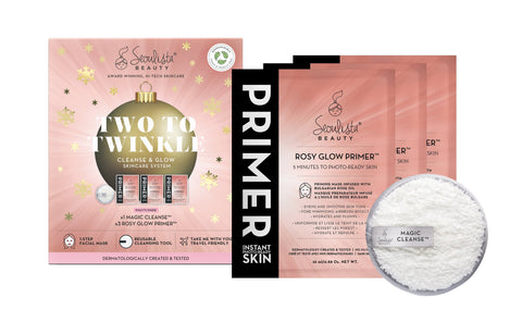Seoulista Beauty Two to Twinkle Cleanse and Glow including Magic Cleanse and Rosy Glow Primer - Seoulista Beauty