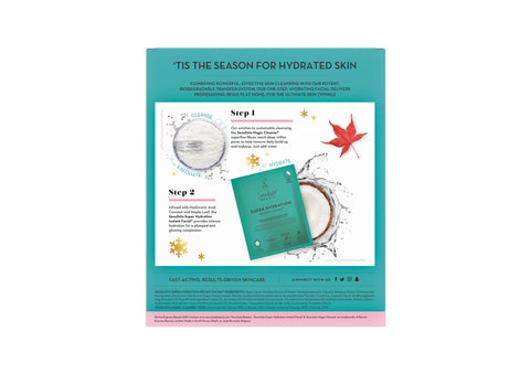 Seoulista Beauty Two to Twinkle Cleanse and Hydrate Christmas Gift Set - Seoulista Beauty