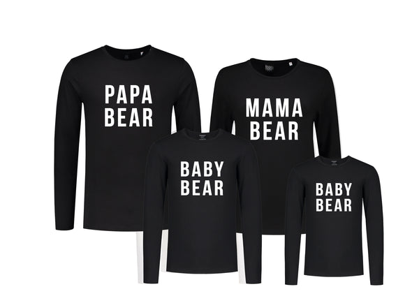 Set (4) Longsleeves Bears