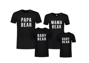 Set (4) T-Shirts Bears