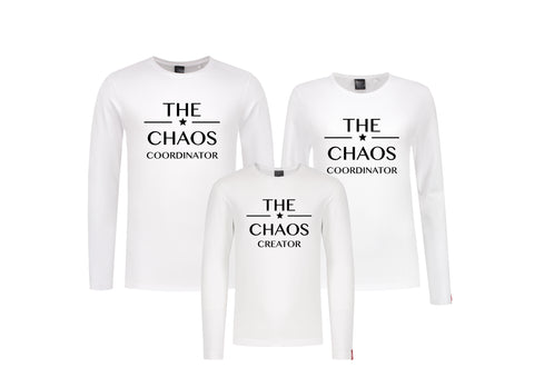 Set (2) Longsleeves Chaos Vrouw-Kind