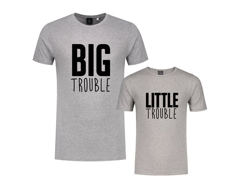Set (2) T-Shirts Trouble Man-Kind