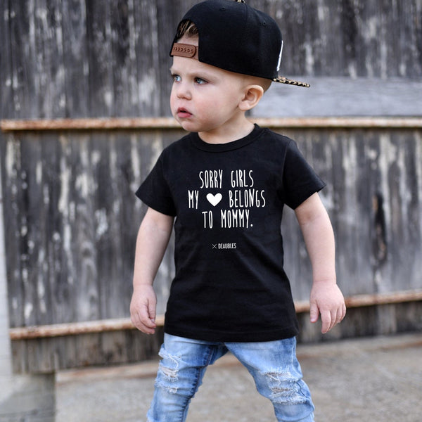 T-Shirt Sorry Girls Mommy