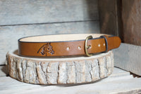 Leather Children's Belt-Horse head - M & W Leather
