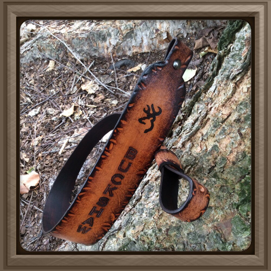 Leather Sling-The Deer - M & W Leather