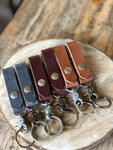 Belt Loop Leather Key chain - M & W Leather