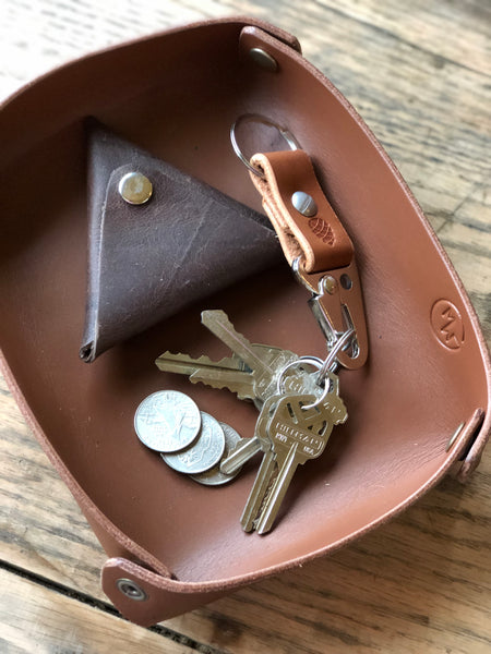 Lever Snap Key Clip - M & W Leather