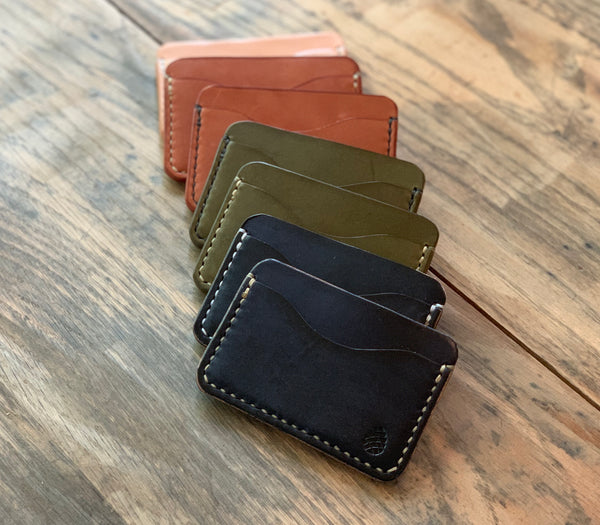 The Solomon Card Wallet - M & W Leather