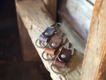 Lever Snap Key Clip-Water Buffalo Leather - M & W Leather