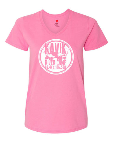 Kavik River Camp Women's T-Shirt Pink