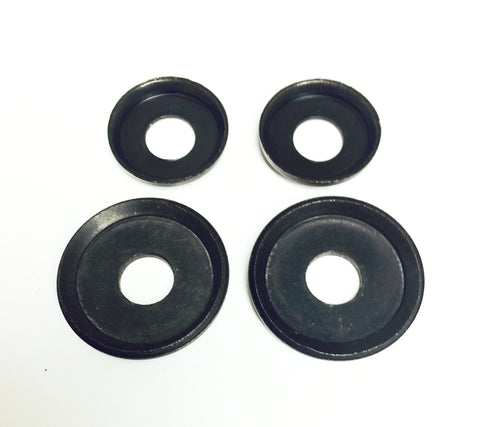 Cup Washers Black Set of 4
