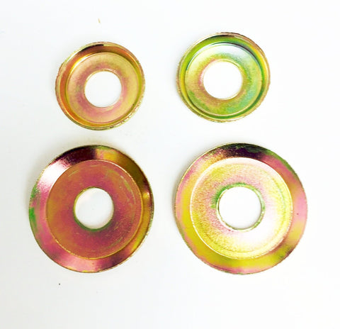 Cup Washers Gold set of 4