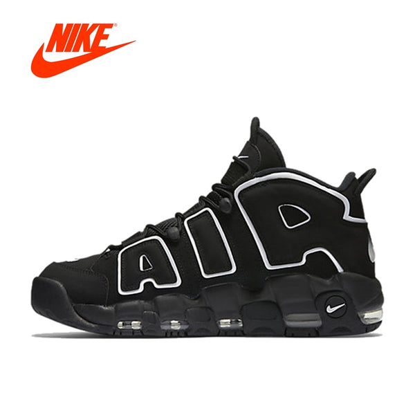 New Arrival Authentic Nike Air More Uptempo Men s Breathable Basketball  Shoes Sports Sneakers 10d4231ad
