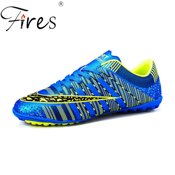 34f0079dd Fires Men s Turf Soccer Shoes Indoor Plus Size 45 Cleats Kids Original  Superfly futsal Football Shoes Sneakers chaussure de foot