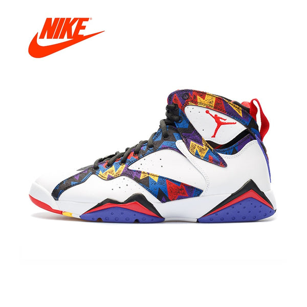 info for 1969a 984de Original New Arrival Authentic Nike Air Jordan 7 Retro 'Sweater' Men's  Basketball Shoes Sport Sneakers Good Quality 304775-142
