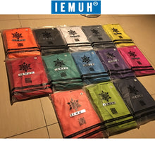Load image into Gallery viewer, IEMUH Brand Summer New Casual Shorts Men Fit Solid 18 Color Available Shorts Loose Elastic Waist Breathable Beach Shorts HI-Q