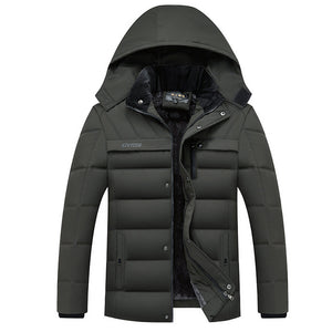 Hooded Thick Warm Jacket