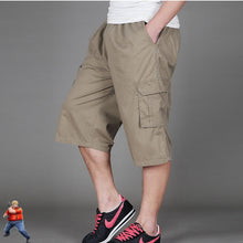 Load image into Gallery viewer, Long Cargo Shorts