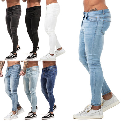 Solid Fashion Jeans