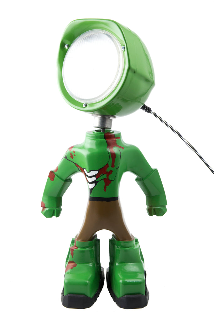 Cool robot lamp Lampster Zombie