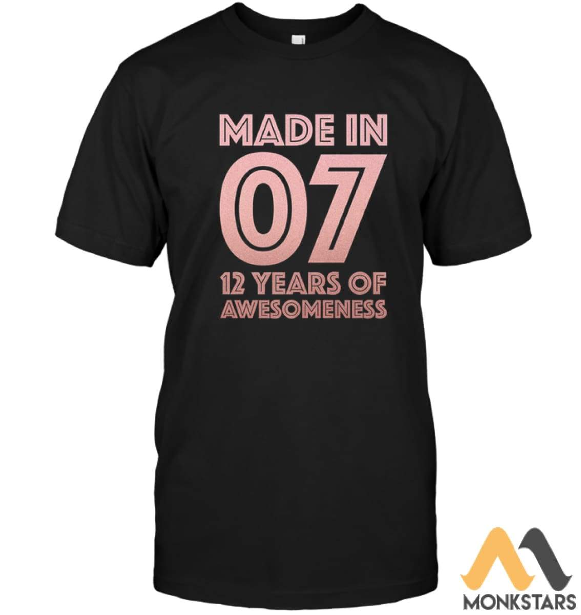 12Th Birthday Shirt Twelve 12 Year Old Daughter Girls Gift Unisex Short Sleeve Classic Tee
