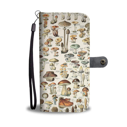 Women Wallet - Champignons Case