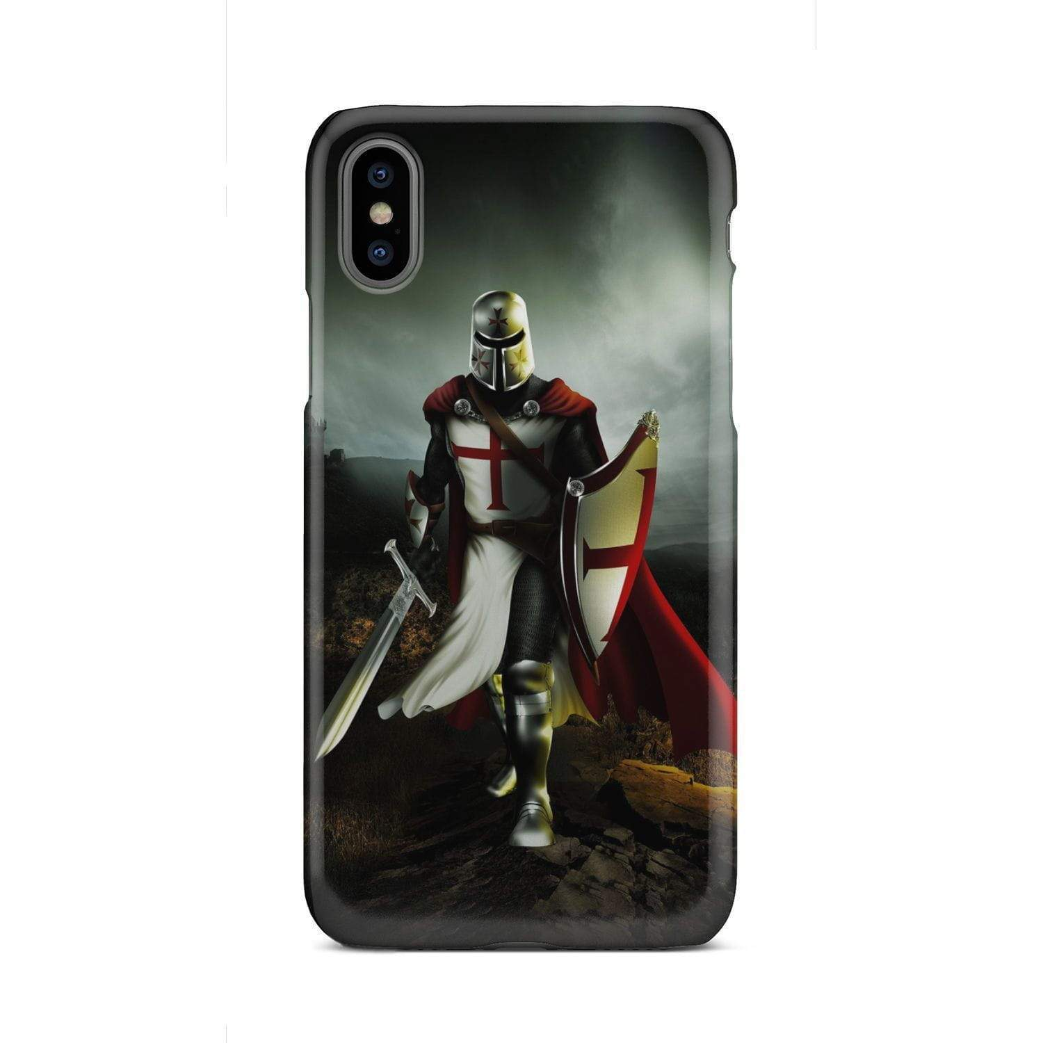Phone Case - Knight Templar Iphone X