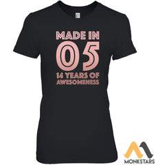 14Th Birthday Shirt Teen Girl Age 14 Year Old Gift Daughter Womens Relaxed Fit Tee