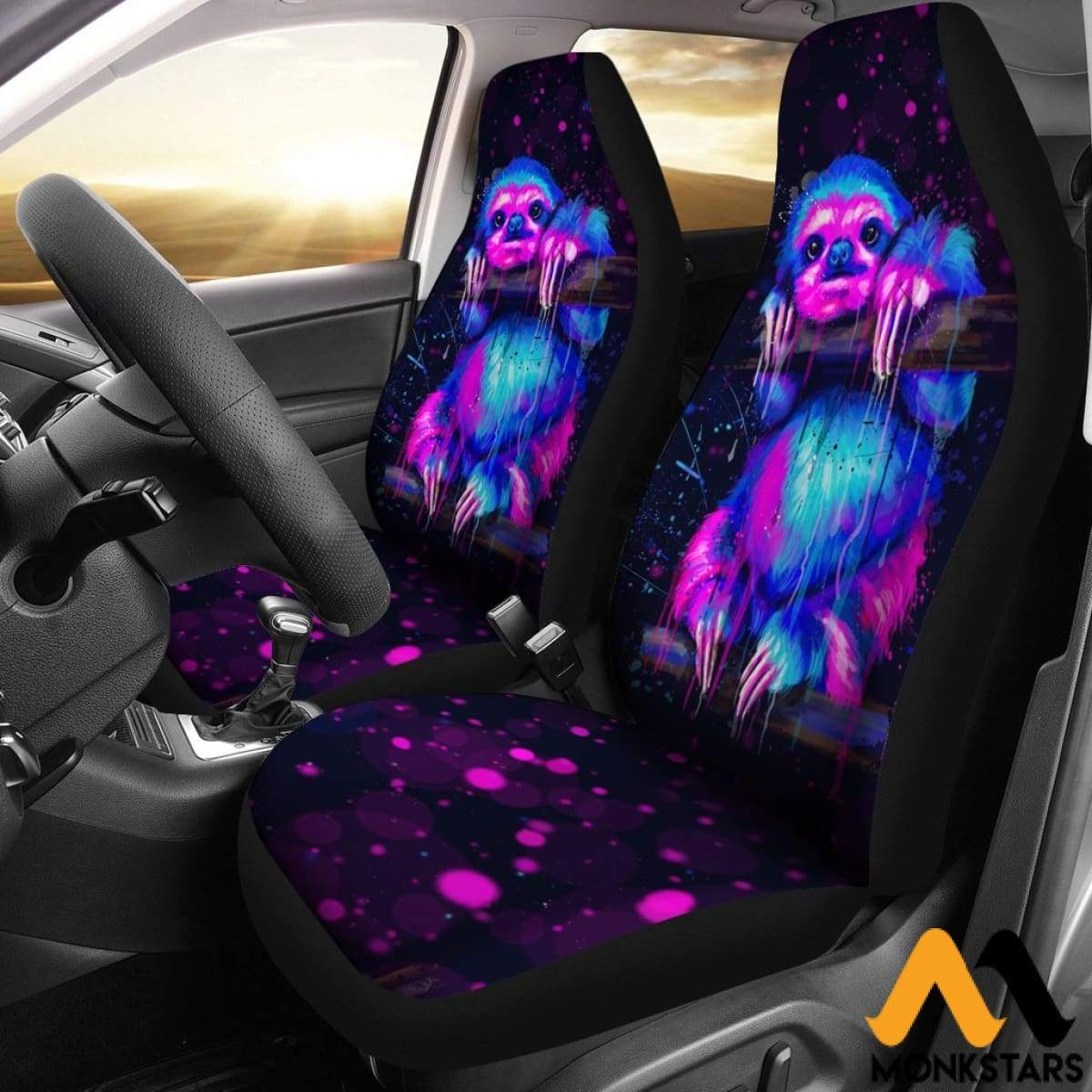 2 Pcs Otter Car Seat Covers Atgl210401