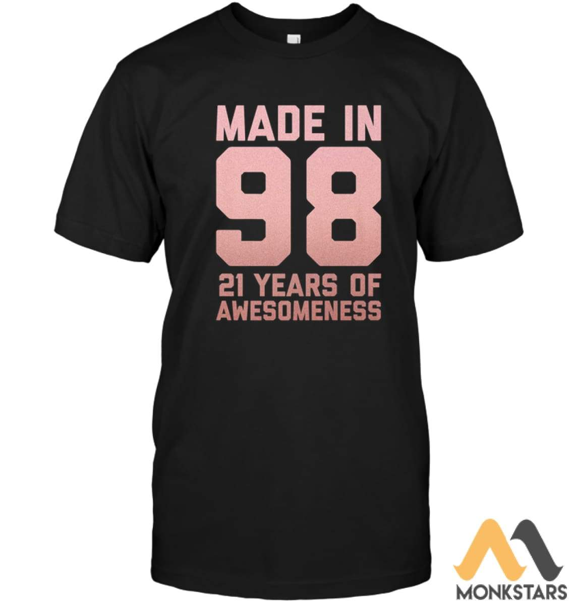 21St Birthday Shirt Gift Girl Age 21 Year Old Daughter Niece Unisex Short Sleeve Classic Tee