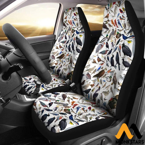 2Pcs Bird Car Seat Cover Covers