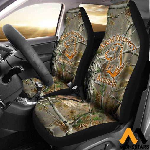2Pcs Camo Car Seat Cover Covers