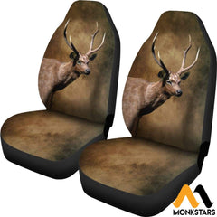 2Pcs Samba Deer Seat Cover