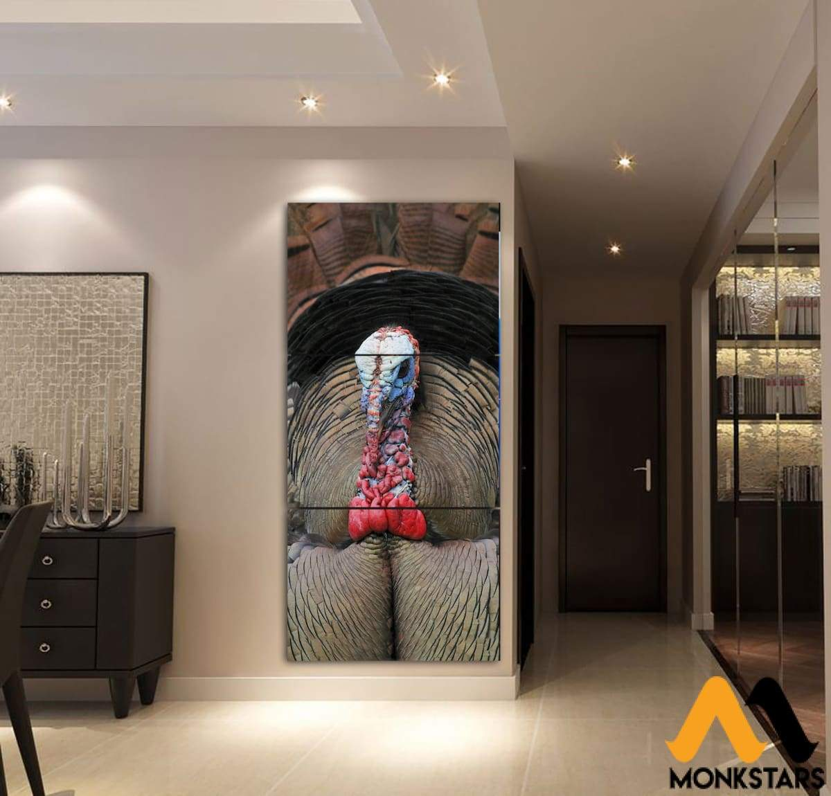 3-Piece Turkey Printed Canvas Wall Art Painting & Calligraphy