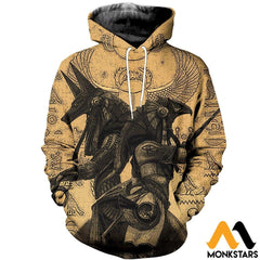 3D All Over Printed Anubis And Osiris Shirts Shorts Normal Hoodie / Xs Clothes