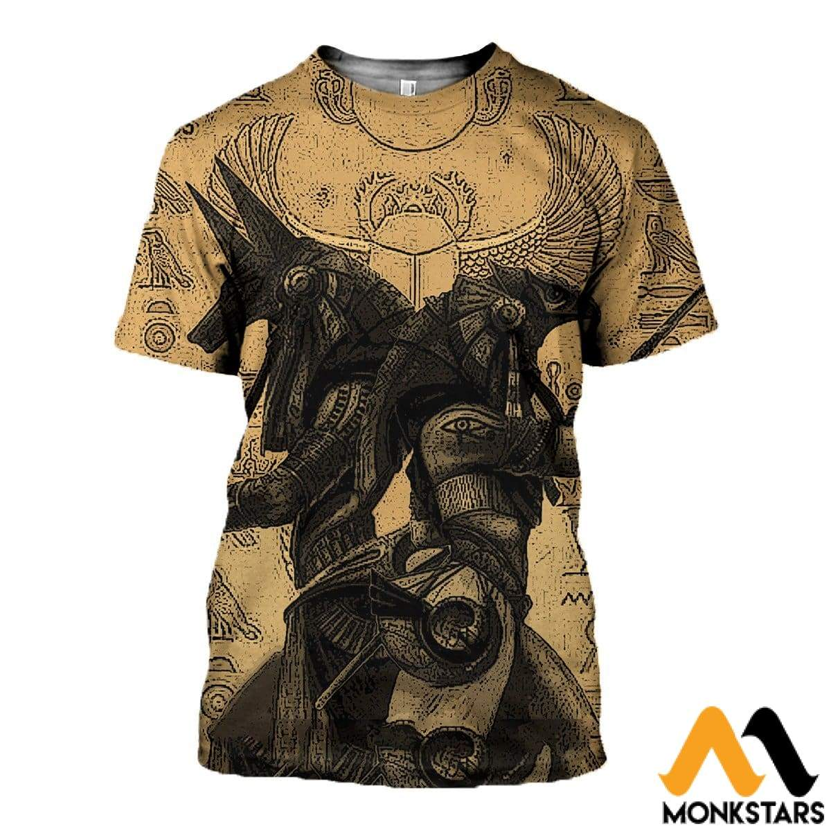 a88814197f4f9 3D All Over Printed Anubis And Osiris Shirts Shorts T-Shirt / Xs Clothes