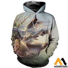 3D All Over Printed Art Fishing Shirts And Shorts Normal Hoodie / Xs Clothes