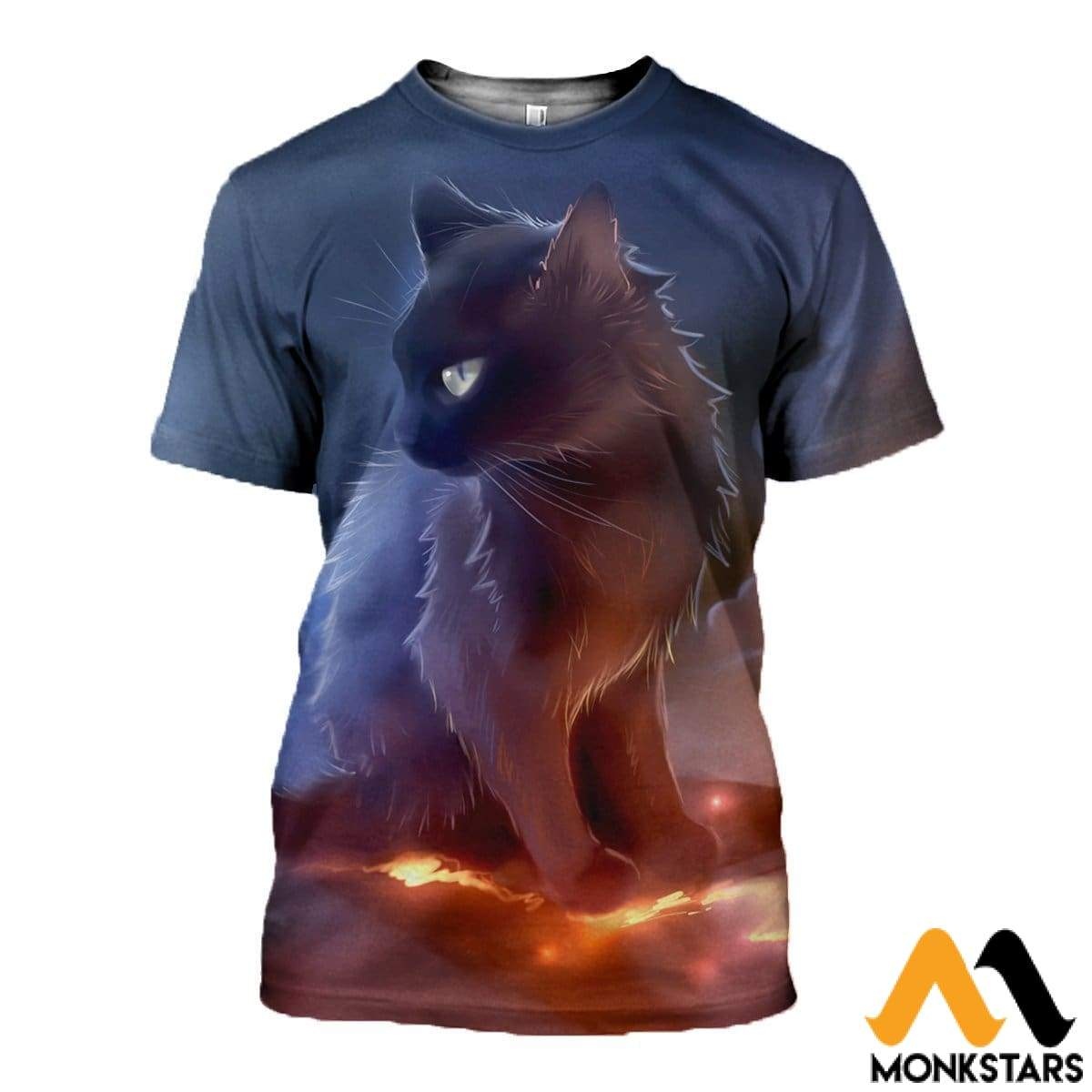 3D All Over Printed Baby Cat T-Shirt Hoodie St0M300304 / Xs Clothes