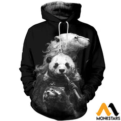 3D All Over Printed Bears T-Shirt Hoodie Snal160411 Normal / Xs Clothes