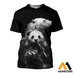3D All Over Printed Bears T-Shirt Hoodie Snal160411 / Xs Clothes