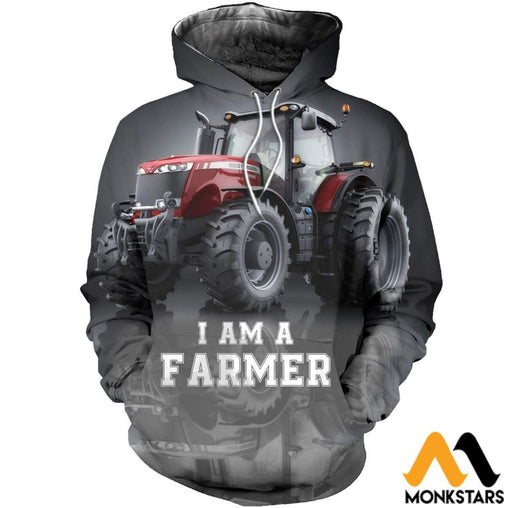 3D All Over Printed Beautiful Tractor Art Shirts And Shorts Scll281101 Normal Hoodie / Xs Clothes