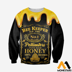 3D All Over Printed Beekeeper Tops Long-Sleeved Shirt / Xs Clothes